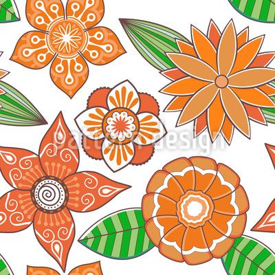 Sommerblüte Vektor Design