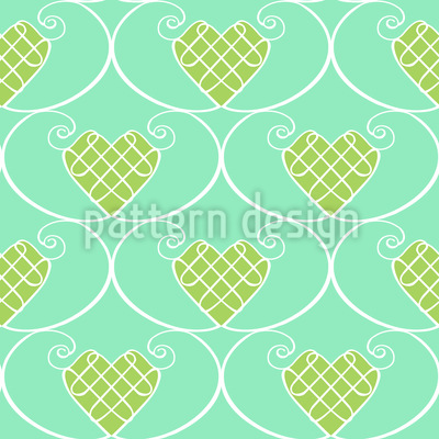 Gingerbread Hearts Vector Design