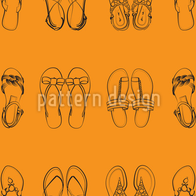 I Only Wear Sandals Vector Design