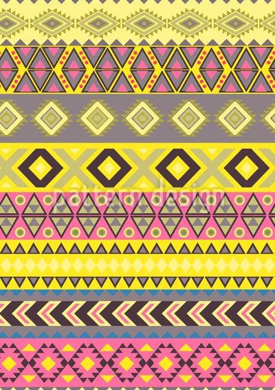 Stripe Kilim Repeat Pattern