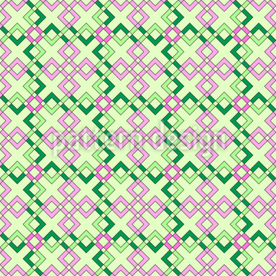 Abstract roses Repeating Pattern