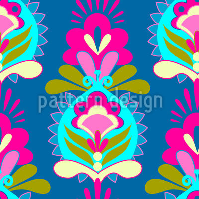 Flower Greetings Repeating Pattern