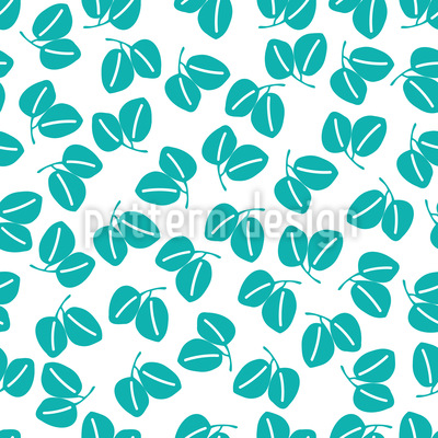 Leaf Pairs Vector Ornament