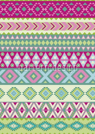 Modern Ethno Seamless Vector Pattern Design