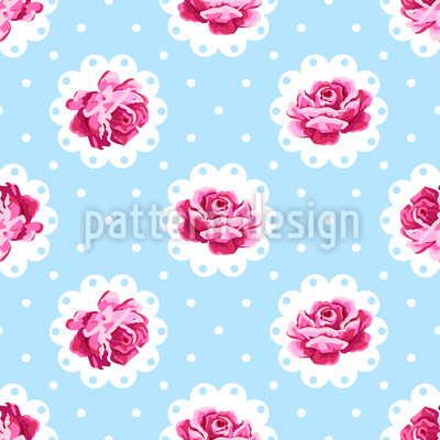 Vintage Rose Design Pattern