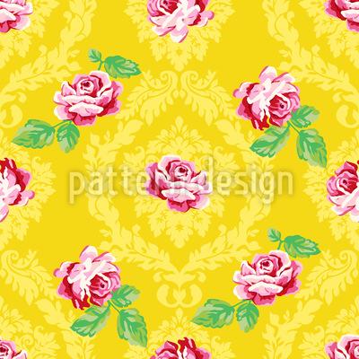 Nostalgische Rosen Muster Design