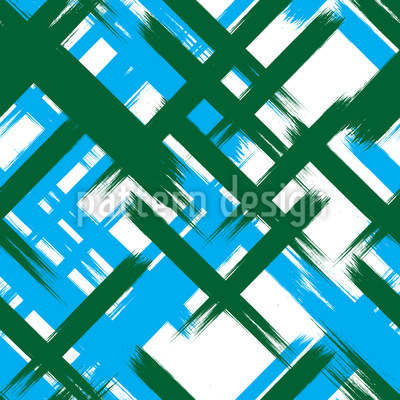 Abstract Tartan Seamless Vector Pattern