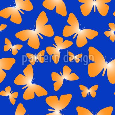 Fliegen Und Flattern Muster Design
