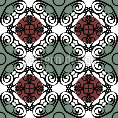 Opulence In Circles Vector Design