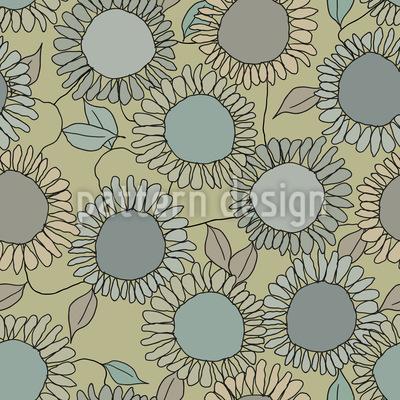 Sonnenblumen Freude Rapportmuster