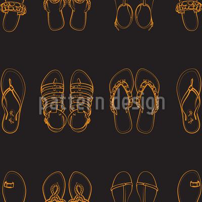 Sandalen Musterdesign