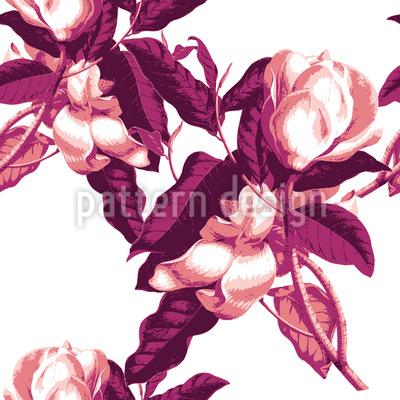 Magnolia Opulence Seamless Vector Pattern