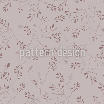 Rediscovered Rose Seamless Vector Pattern Design
