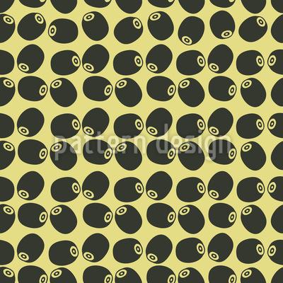 Oliven Ernte Rapportiertes Design
