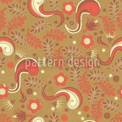 Dream Of Paradise Pattern Design