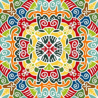 Zentrum Von Arabien Rapportiertes Design