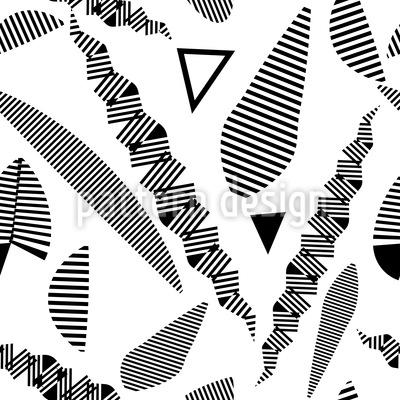 Streifen Phantasie Musterdesign
