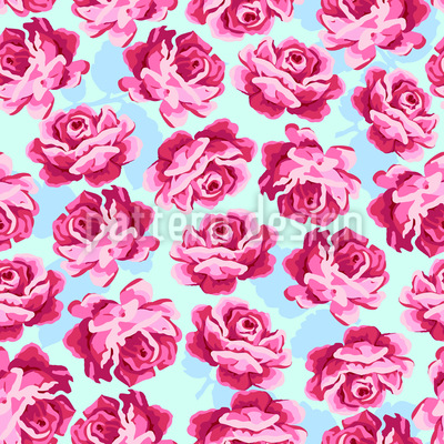 Lovely Rose Repeating Pattern