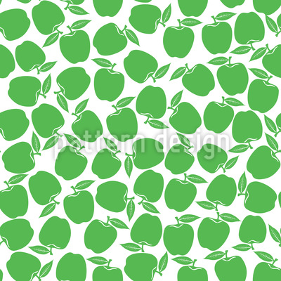 Picking Apples Pattern Design