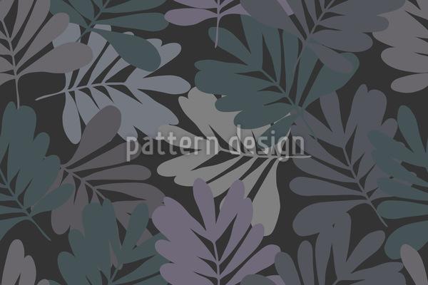 Blätter Bei Nacht Vektor Design