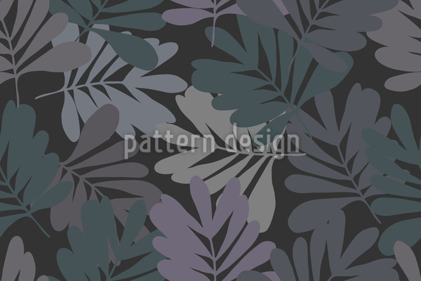 Leaves At Nightfall Vector Design