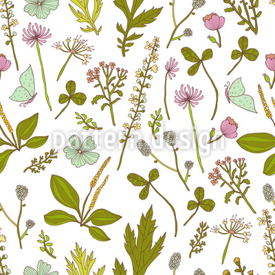 Garden Discovery Vector Ornament