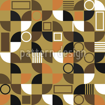Mosaic Fragments Seamless Pattern