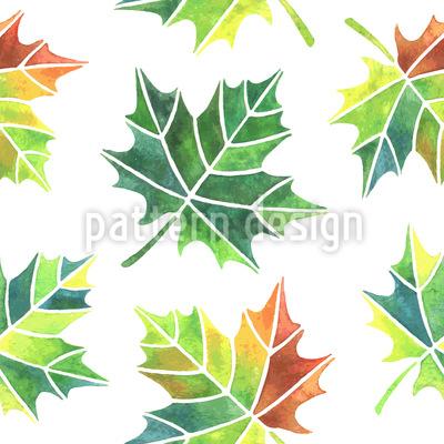 Verändernde Blätter Vektor Muster