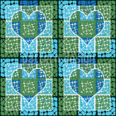 Affection To The Square Pattern Design