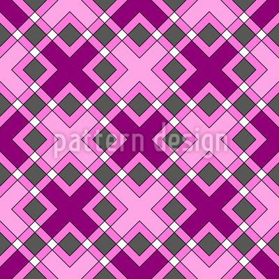 Kreuzende Quadrate Vektor Design