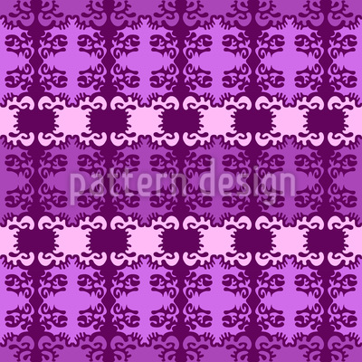 Blur Damask Repeating Pattern