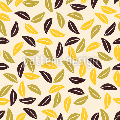 Indian Summer Seamless Vector Pattern Design