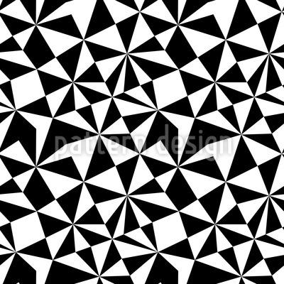 Mosaico Op Design de padrão vetorial sem costura