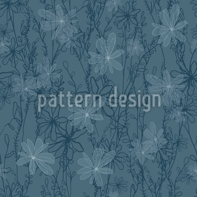 Night Meadow Repeat Pattern