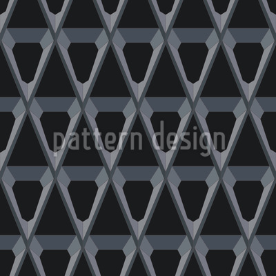 Polygon Seamless Vector Pattern Design