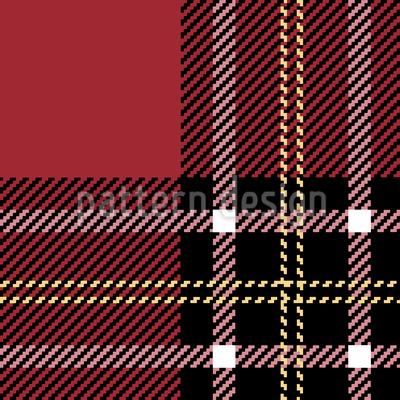 Schottischer Tartan Nahtloses Muster
