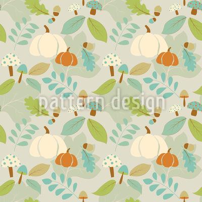 Autumn Bliss Seamless Vector Pattern Design