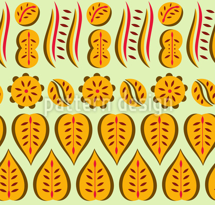 Floral Collection Seamless Vector Pattern Design