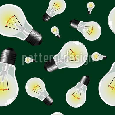 Light bulbs Pattern Design