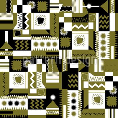 Zigzag Rectangles Pattern Design