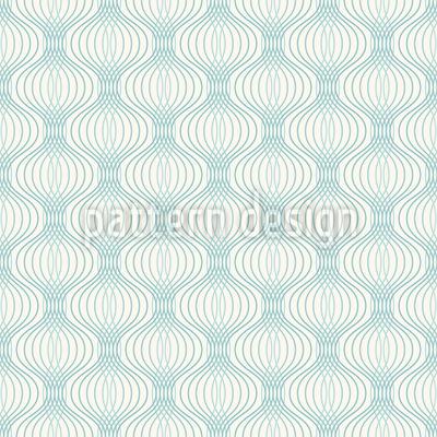 Draht Ogee Vektor Muster