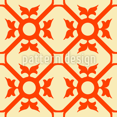 Elegant Flourish Vector Pattern
