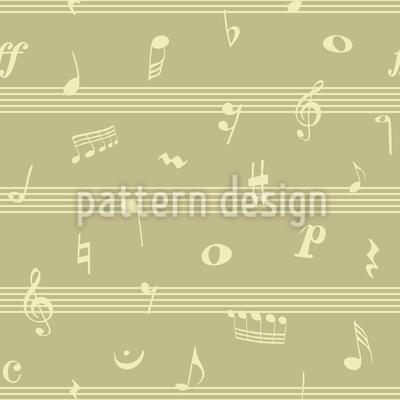 Psychedelischer Jazz Nahtloses Vektormuster