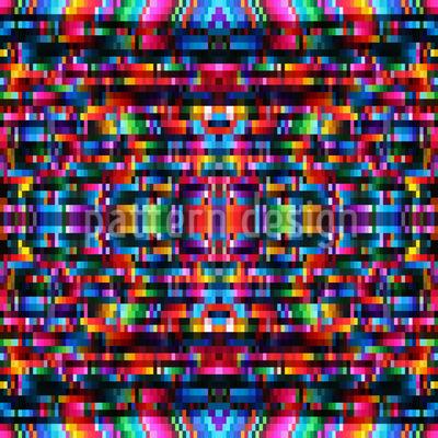Pixel Power Repeating Pattern