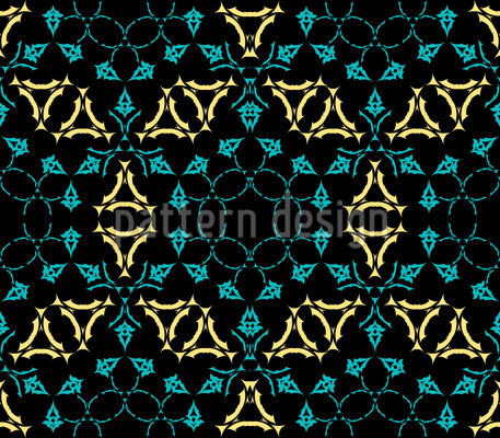 Mittelalter Kaleidoskop Muster Design