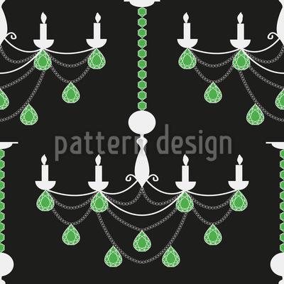 Smaragd Kronleuchter Musterdesign