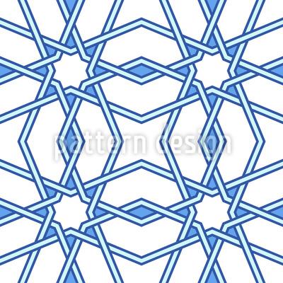 Estrela da Manhã Design de padrão vetorial sem costura