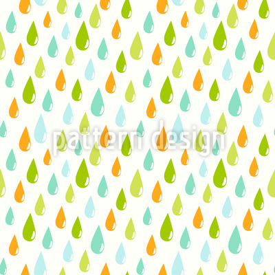 Regentropfen Muster Design
