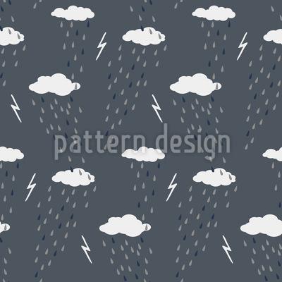 Stürmische Nacht Muster Design