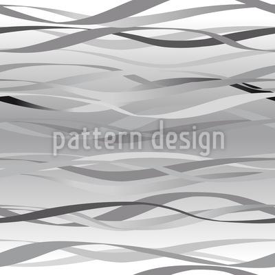 Waves In Grey Pattern Design